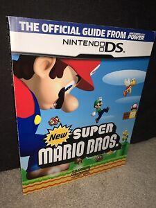 New Super Mario Bros. Official Nintendo Players Guide Nintendo Power Nintendo DS