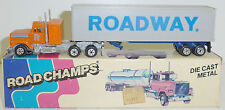 ROAD CHAMPS 29 MACK Super Liner / MACK Cab. Roadway Trailer  1982  OVP
