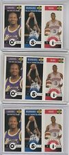 1996-97 Upper Deck Collector's Choice Shaquille O'Neal, Joe Smith, Allen Iverson