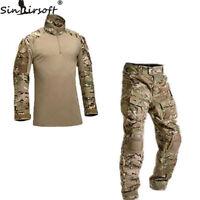Tactical Military Combat Uniform Shirt & Pants G3 Airsoft GEN3 Camo MultiCam BDU