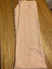 Peach Fabric Shower Curtain