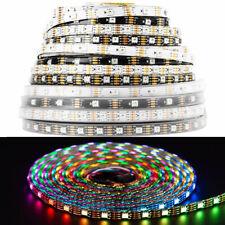 5m ws2815 dc12v RGB 像素 LED 条灯双信号个别寻址