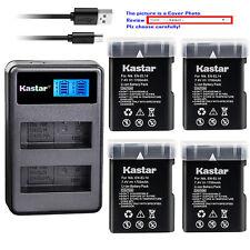 Kastar Battery LCD2 Charger for Nikon D5100 D5200 D5300 D3100 D3200 D3300 P7000