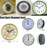pièces de bricolage le mécanisme de l'horloge quartz circulation insérer