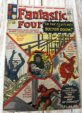 Fantastic Four #17 - Marvel Comics 1963  Doctor Doom Appearance!