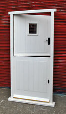 Traditional Hardwood Timber Cottage Style Stable Door! Made to measure! Bespoke!