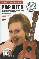Strumalong Ukulele Pop Hits Adele Abba Uke Learn to Play Music Book & CD