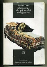 Freud#INTRODUZIONE ALLA PSICOANALISI#Boringhieri 1999 M