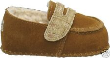 UGG Australia Infant (0-6 Months) Sprout Brown  Baby Shoe