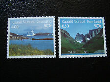 GROENLAND (danemark) - timbre - yt n° 248 249 nsg (A3) stamp greenland
