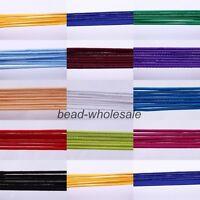 10m Various colors Elastic Cord For Making Hair Rope 2.5mm