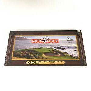 Monopoly Golf Signature Holes Edition Board Game *NIB* Never Opened