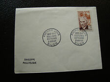 FRANCE - enveloppe 1er jour 2/6/1962 (edouard estaunie) (cy54) french