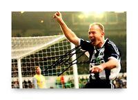 Alan Shearer Signed 6x4 Photo Newcastle United England Blackburn Autograph + COA