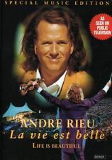 New: Andre Rieu - La Vie Est Belle (Life Is Beautiful) Dvd