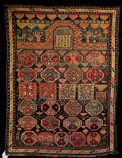 1900 MOGHAN  CAUCASIAN PRAYER RUG ... MOST EXCELLANT, UNUSUAL