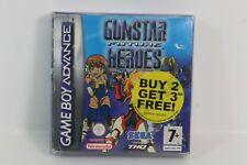 Gunstar Future Heroes Game Boy Advance PAL