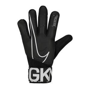 NIKE GK MATCH GOALKEEPER GLOVES YOUTH'S BLACK/WHITE