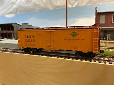 o scale 2 rail freight cars, atlas 40' steel reefer, mdt/ic 13593