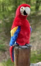 FAO Schwartz Stuffed Animal PARROT 13""