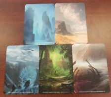 Magic The Gathering card dividers 50 count lot 5 mana colors licensed 10 packs/5