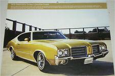 1970 Oldsmobile Cutlas S Hardtop Coupe car print (green)