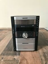 New listing Sharp Xl-Hp515 Disc & Cassette Player Stereo Sound System w/Two Speakers