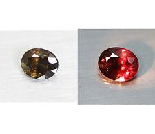 3.89cts Mind Blowing Natural 100% Color Change Garnet  Loose Gemstone