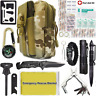 40 in 1 Camping Survival Kit Outdoor Military Tactical Emergency Gear Backpack