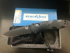 Benchmade 583SBK Barrage Assisted Open Folder Tanto Blade Lock & Reversible Clip