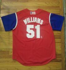 NWT Vintage MAJESTIC New York Yankees/Puerto Rico Bernie Williams Jersey Mens XL