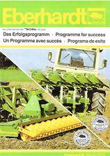 Eberhardt Programm, orig. Prospekt 90er Jahre