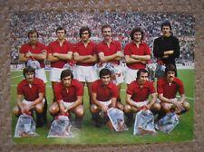 FORMAZIONE SQUADRA  TORINO TORO CALCIO 1972/73 CARTOLINA ORIGINALE