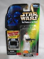 STAR WARS POTF POWER FORCE PRINCESS LEIA ORGANA FREEZE FRAME MOSC