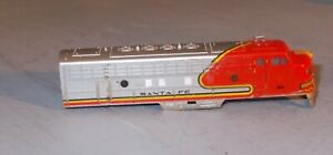 N SCALE TRAIN LOCOMOTIVE SHELL Santa Fe