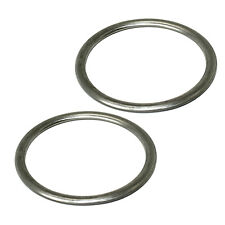 2 Exhaust Pipe Gaskets for Kawasaki Vn1500 Vulcan 1500 Nomad Fi 1999-2004