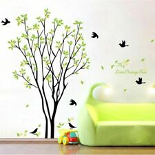 Green Tree Decor Wall Sticker Bed room Living Room Decoration Plastic Wall Decal