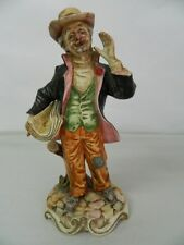 Statua di porcellana Venditore di giornali Scuola italiana Capodimonte OMA19
