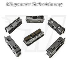 5x Zierleisten Verkleidungs Befestigungs Clips Halterung für Jaguar | C2Z11575