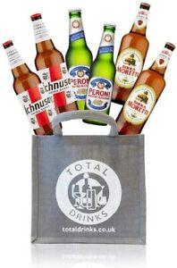 Premium Italian Lager Mixed Case Gift Set 6 x 330ml Ichnusa, Peroni, Moretti