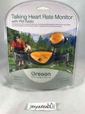 Oregon Scientific Talking Heart Rate Monitor with FM Radio (Sealed)