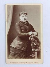 Victorian Carte De Visite CDV: Lady: Bradnee: Torquay & Newton Abbott