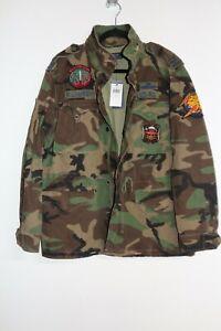 Polo Ralph Lauren Army Military Style Jacke, M, selten, nagelneu mit Tags