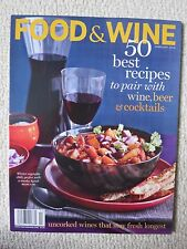 Food & Wine Magazine February 2010 Best Recipes To Pair Wine, Beer & Cocktails
