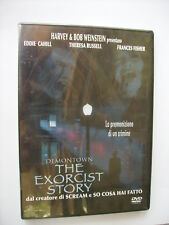DEMONTOWN THE EXORCIST STORY - DVD SIGILLATO PAL - EDDIE CAHILL- THERESA RUSSELL
