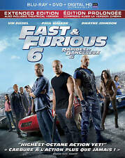 FAST & FURIOUS 6 (Blu-ray/DVD, 2013, 2-Disc Set, Canadian) New / Factory Sealed
