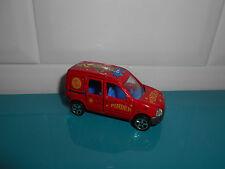 25.06.17.4 voiture Majorette cirque circus Pinder renault kangoo n°288/289
