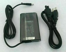 New Original OEM Genuine DELL 65W Small Tip 19.5V AC Charger Power Cord Adapter