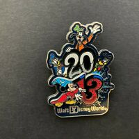 WDW - Dated 2013 - Sorcerer Mickey, Donald, Goofy, and Pluto Disney Pin 93942