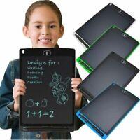 LCD Tablette d'écriture graphique dessin 12 pouces Conseil d'écriture Panneau